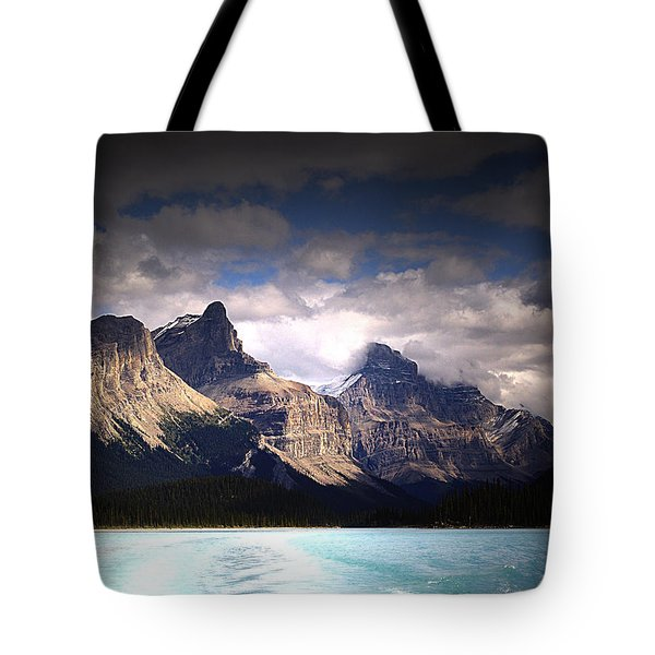 A Break In The Clouds Tote Bag by Janet Ashworth