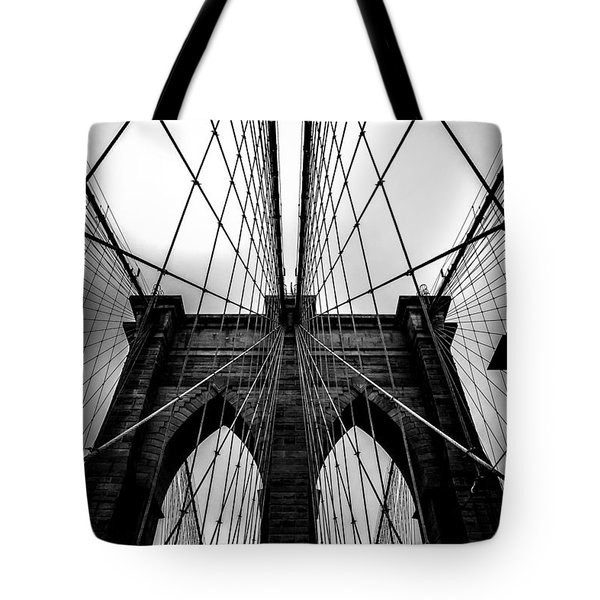 A Brooklyn Perspective Tote Bag by Az Jackson