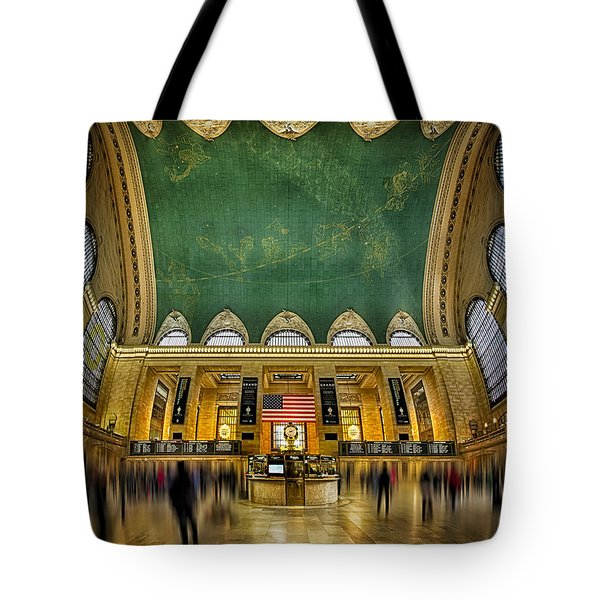 A Central View Tote Bag by Susan Candelario