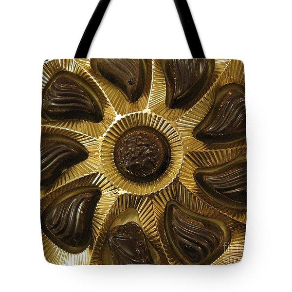 A Chocolate Sun Tote Bag by Ausra Paulauskaite