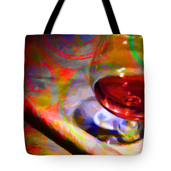 A Cognac Night 20130815 Tote Bag by Wingsdomain Art and Photography