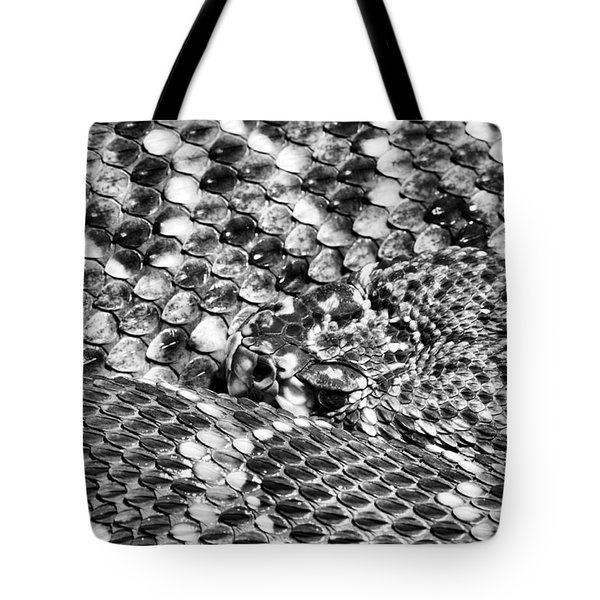 A Dangerous Abstract Tote Bag by JC Findley