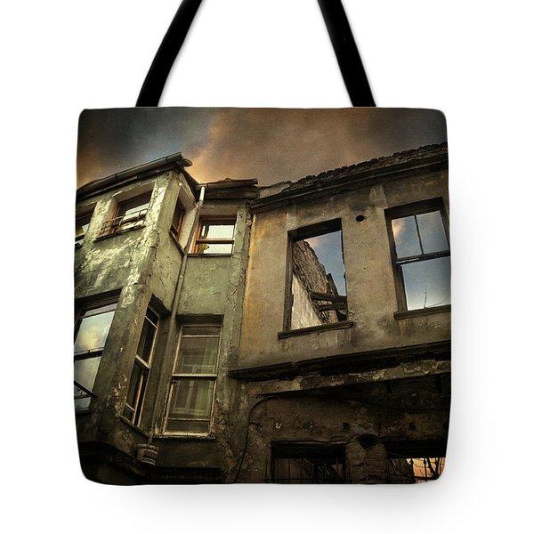 A Day In Balat Tote Bag by Taylan Apukovska