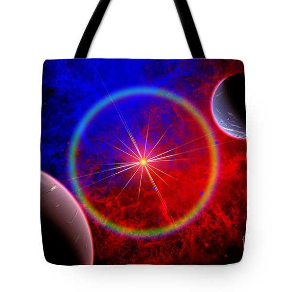 A Distant Alien Star System Tote Bag by Mark Stevenson
