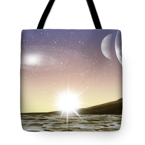 A Distant World Tote Bag by Brian Wallace