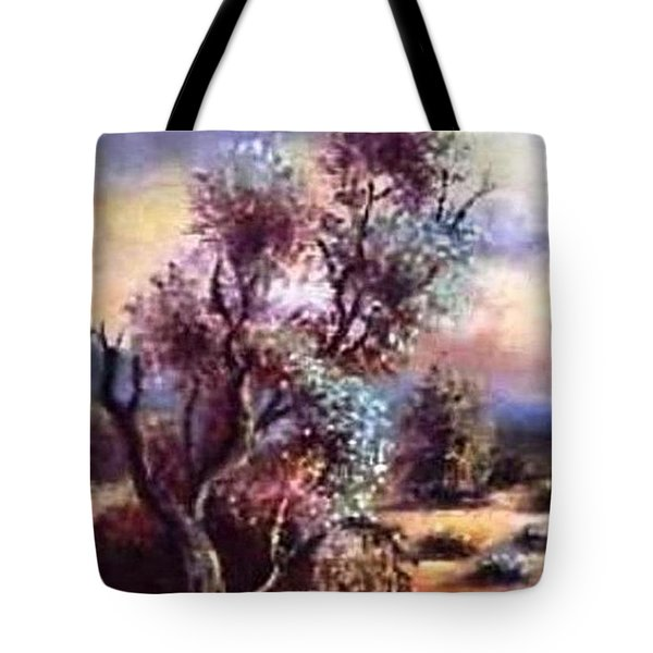 A Door Of Hope 1 Tote Bag by Hazel Holland