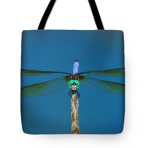 A Dragonfly IIi Tote Bag by Raymond Salani III