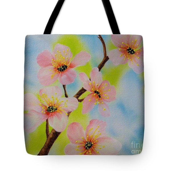 A Dream Of Spring Tote Bag by Carol Avants