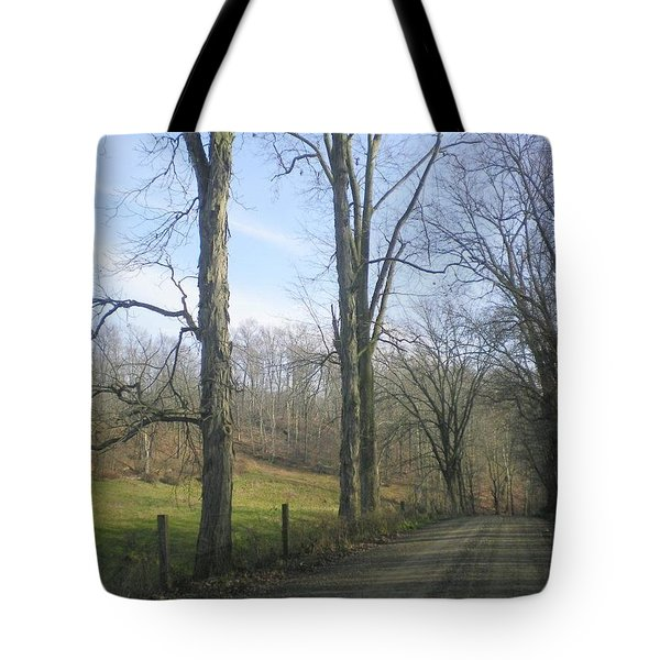 A Drive In The Country Tote Bag by R A W M