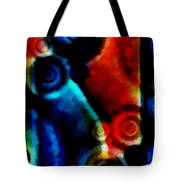 A Drop In The Puddle 1 Tote Bag by Angelina Vick