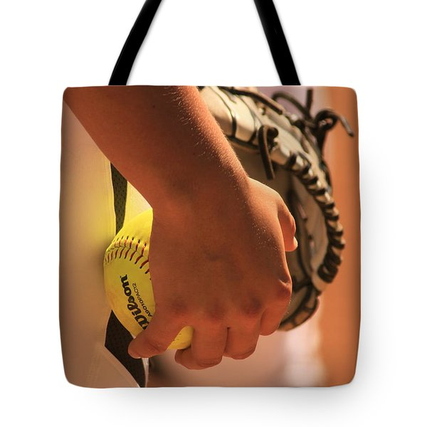 A Game of Nuance Tote Bag by Laddie Halupa