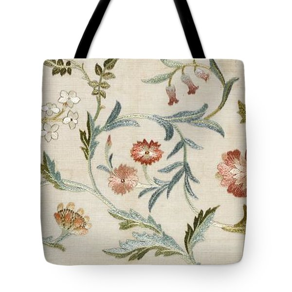 A Garden Piece Tote Bag by May Morris