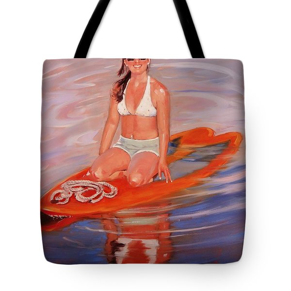 A Gift Of Jenna Tote Bag by Laura Lee Zanghetti
