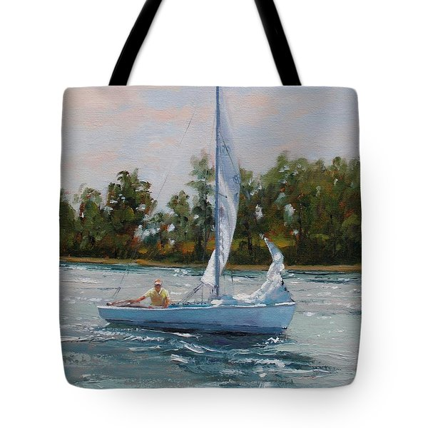 A Gift of Memories Two on Rhodes 19 Tote Bag by Laura Lee Zanghetti