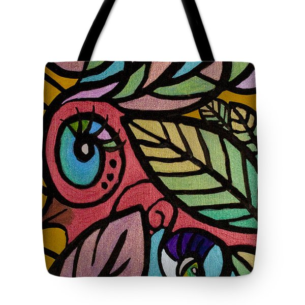 A Girl And Her Bird Tote Bag by Jaime Haney