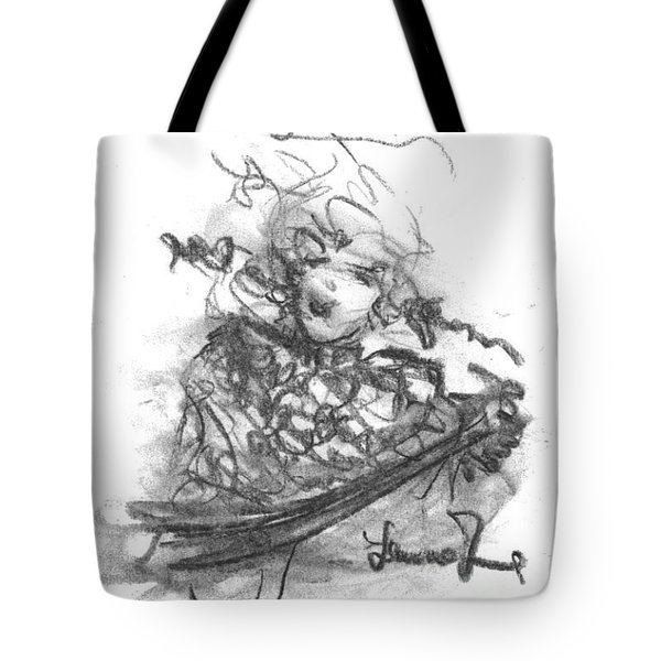 A Great Musician Tote Bag by Laurie D Lundquist