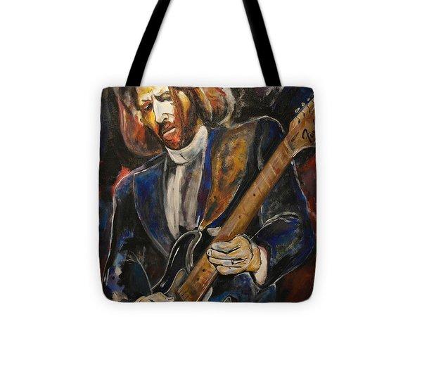 A Guitar God Speaks Tote Bag by John W Barth