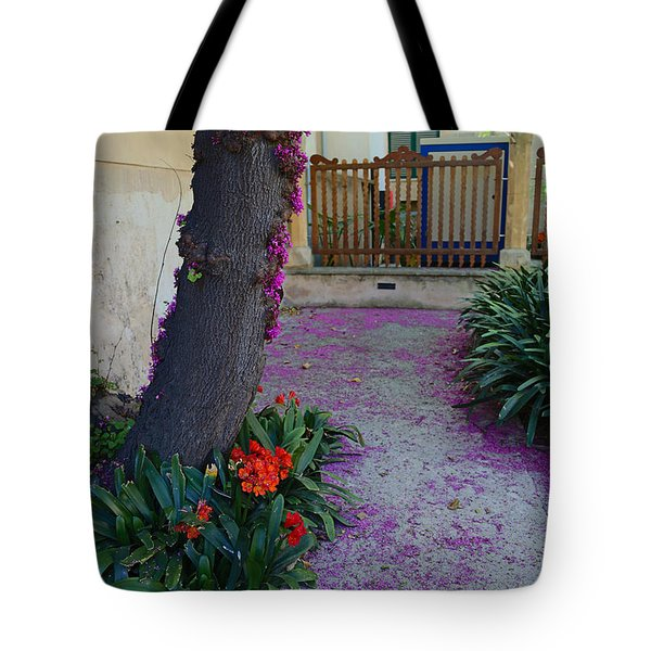 A Hint Of Spring Tote Bag by Rene Triay Photography
