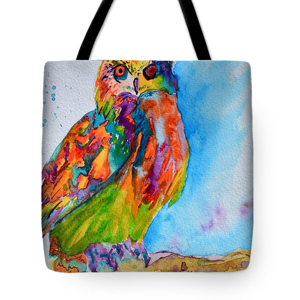 A Hootiful Moment In Time Tote Bag by Beverley Harper Tinsley