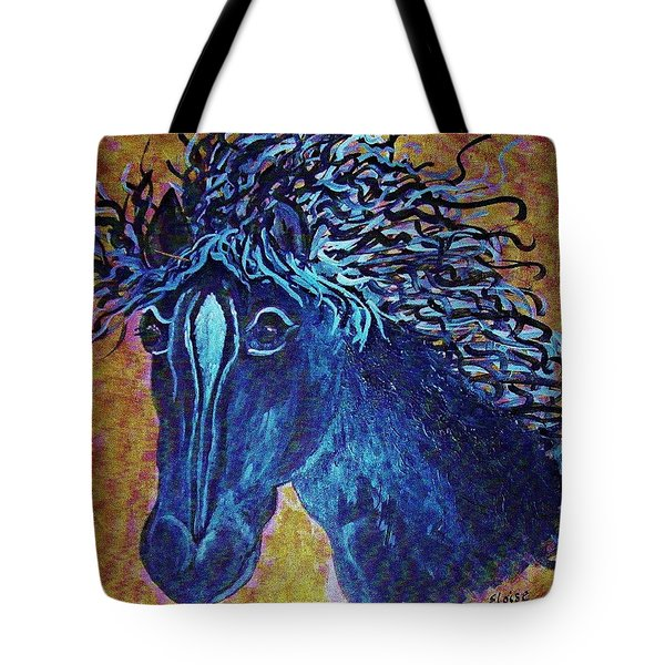A Horse Named Whimsy Tote Bag by Eloise Schneider
