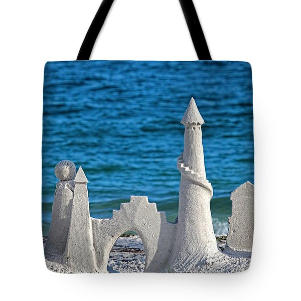 A Kingdom By The Sea Tote Bag by HH Photography
