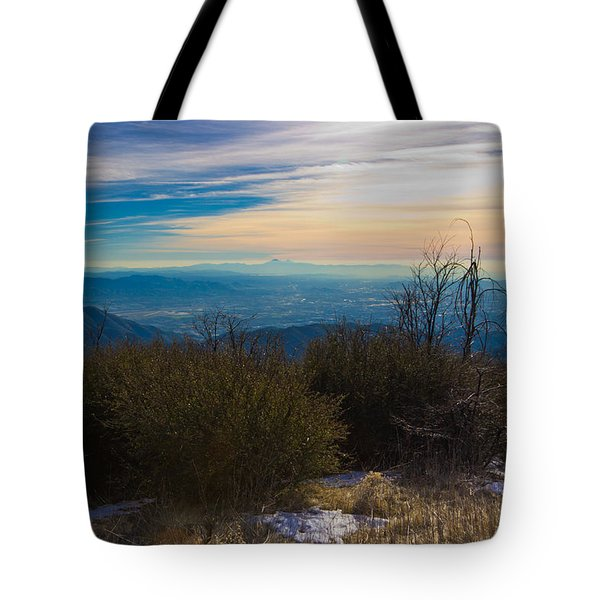 A Late Winter's Afternoon Tote Bag by Heidi Smith