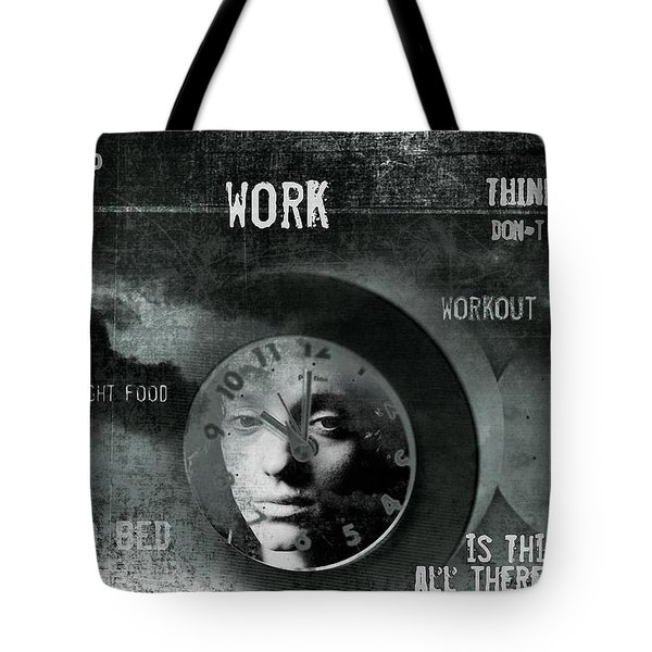 A Life Tote Bag by Gun Legler