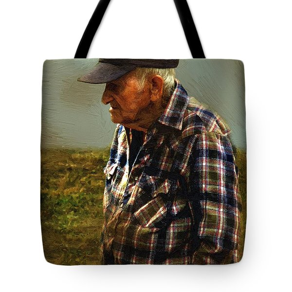 A Lifetime in the Fields Tote Bag by RC DeWinter