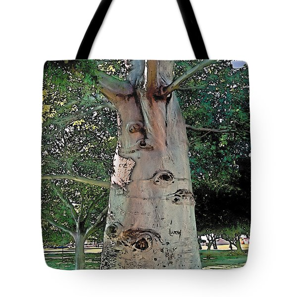 A Lifetime of Scars Tote Bag by Terry Reynoldson
