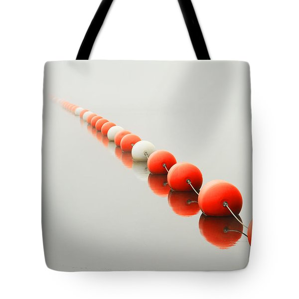 A Line To The Unknown Tote Bag by Karol Livote