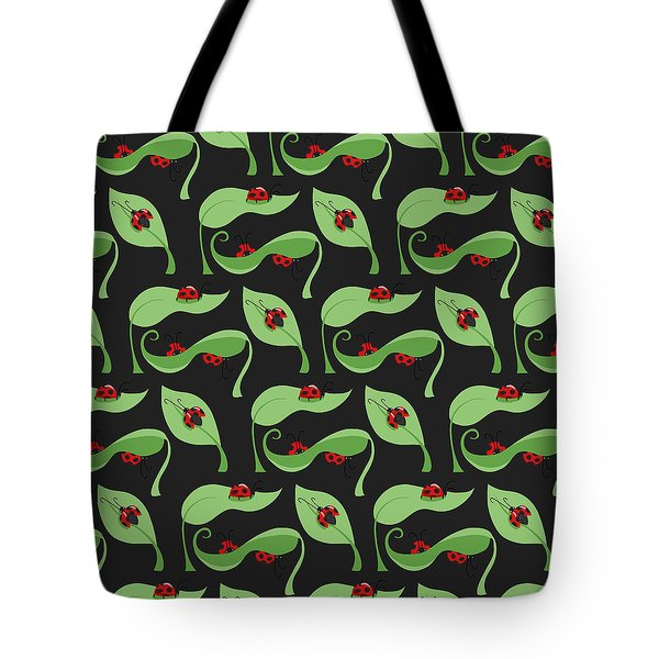 A Litte Bug Tote Bag by Debra  Miller