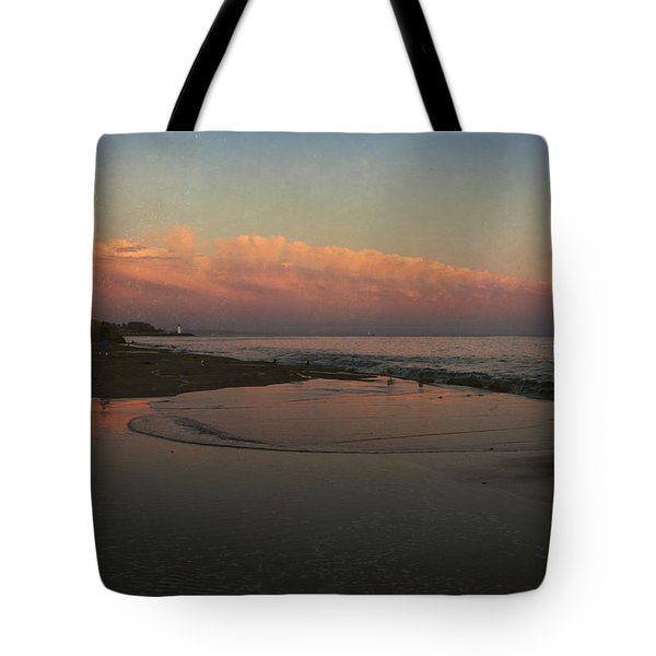 A Little Bit of Peace Tote Bag by Laurie Search