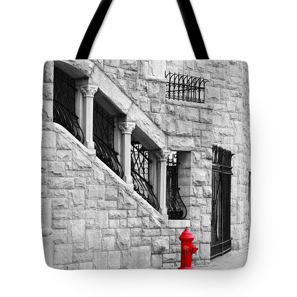 A Little Red Tote Bag by Randi Grace Nilsberg
