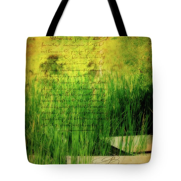 A Love Letter From Summer Tote Bag by Lois Bryan