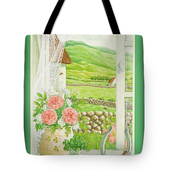 A Lucky View Tote Bag by Lynn Bywaters