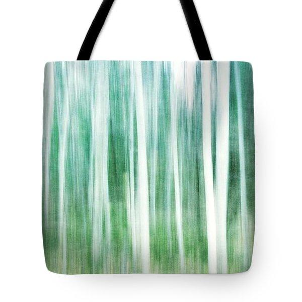 A Matter Of Blues Tote Bag by Priska Wettstein