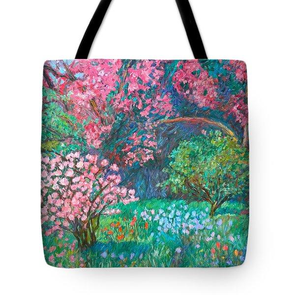 A Memory Tote Bag by Kendall Kessler