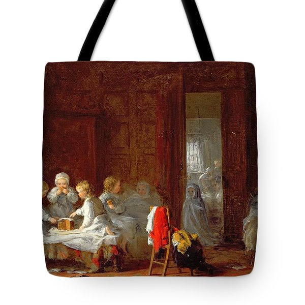 A Midnight Feast, 1866 Tote Bag by Frederick Daniel Hardy
