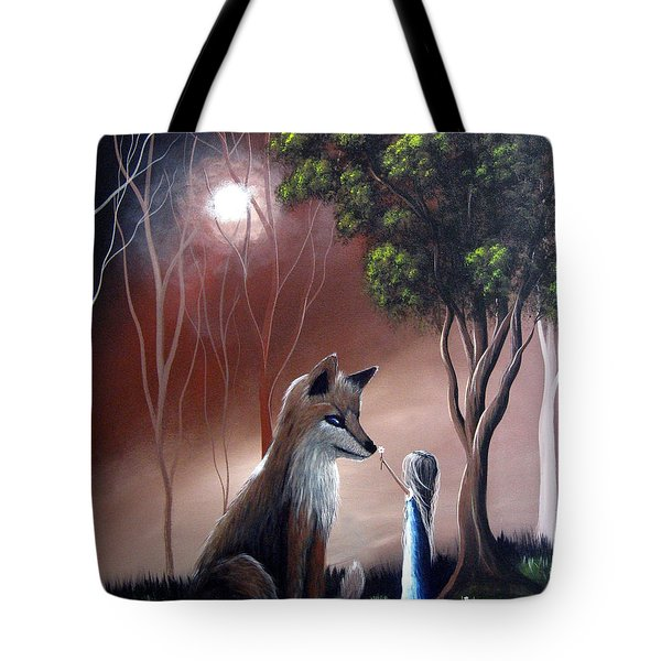 A Midnight Moment By Shawna Erback Tote Bag by Shawna Erback