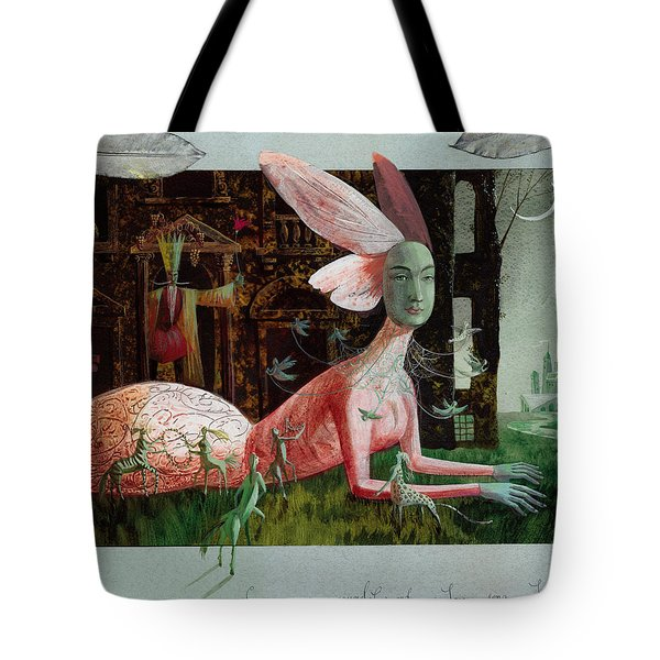 A Midsummer Night's Dream Tote Bag by Victoria Fomina