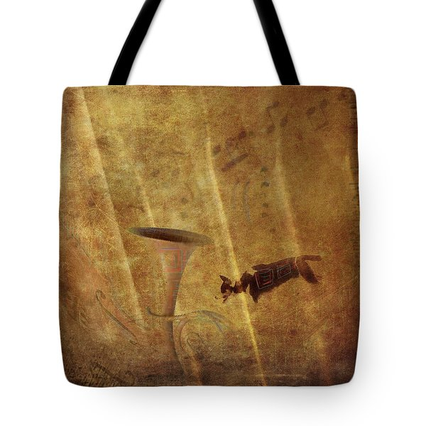 A Mirage Of Music Tote Bag by Suzy Norris