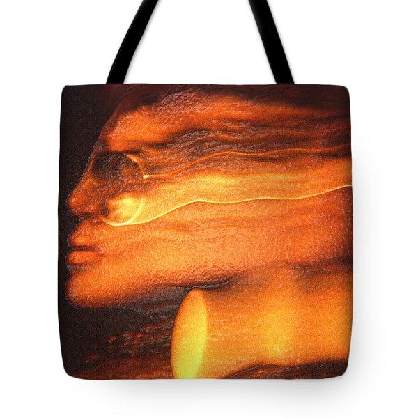 A Modern Woman Tote Bag by Jeff Breiman