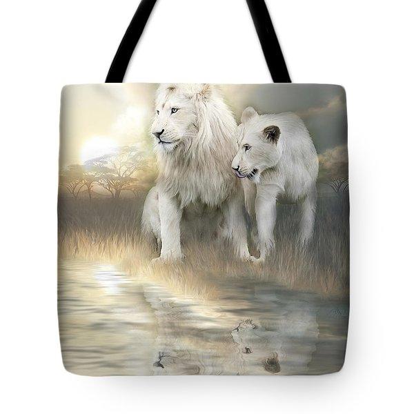 A New Beginning Tote Bag by Carol Cavalaris