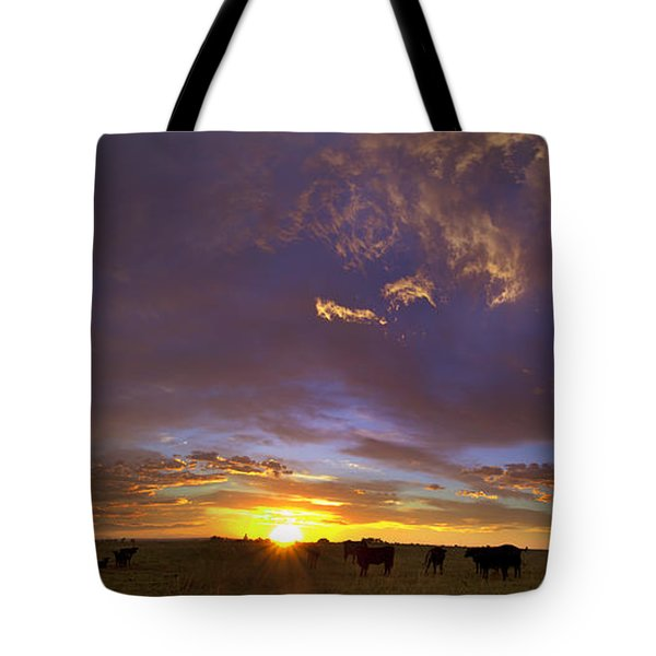 A New Dawn  Tote Bag by Steven Reed