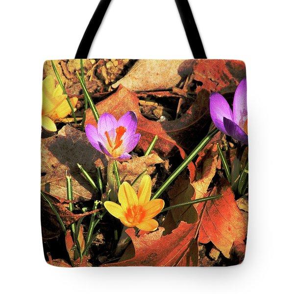A New Season Blooms Tote Bag by Karol  Livote