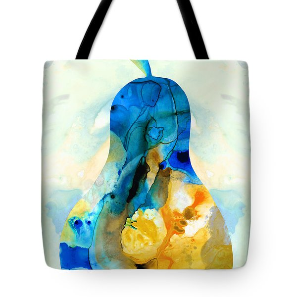 A Nice Pear - Abstract Art By Sharon Cummings Tote Bag by Sharon Cummings