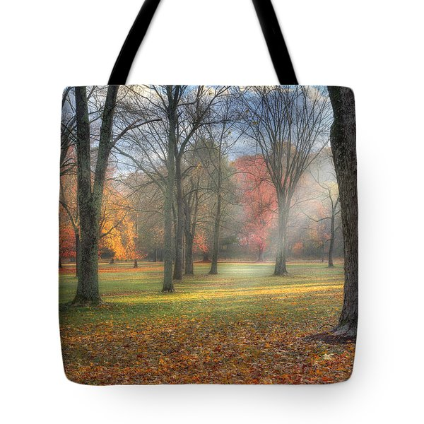 A November Morning Tote Bag by Bill  Wakeley