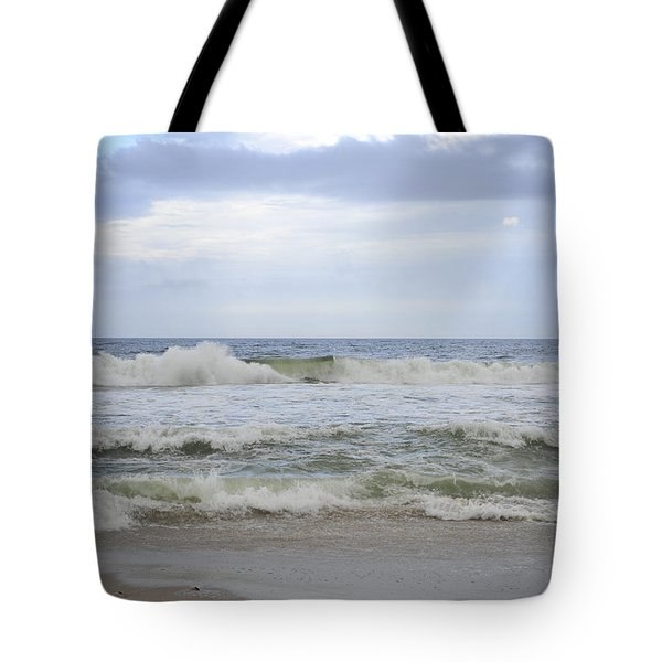 A peek of Blue Tote Bag by Terry DeLuco