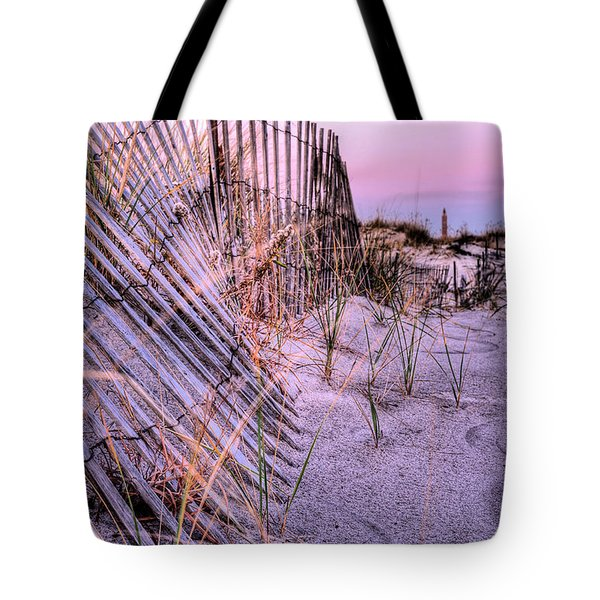 A Pink Sunrise Tote Bag by JC Findley