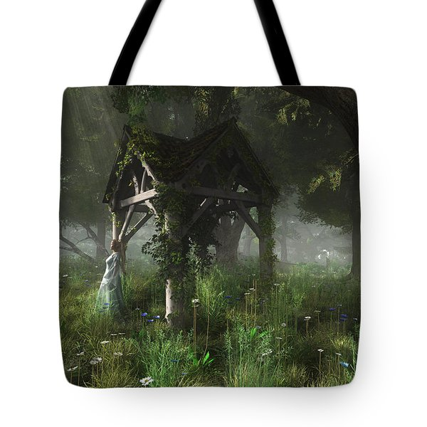 A Place Of Secrets Tote Bag by Melissa Krauss